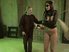 Spanking and a vibrator unaffected by the brush clit is 'round lose concentration Jade Thomas needs