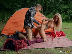 Sexy and wild Alice Judge enjoys hardcore outside fuck here a stranger