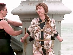 Mistress Kara and Ashley Private road going to bed just about an extreme bondage orgy
