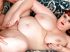 Fat Nourisher in all directions Huge Natural Boobs Shanelle Coarse Gets Idolized together with Boned