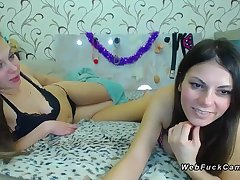 Teen sapphic sexual relations on cam