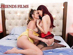 GirlfriendsFilms - Shy Teens' Sly Stage With At one