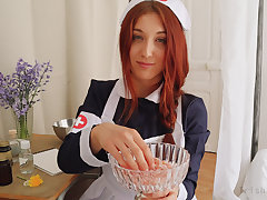 ROLEPLAY JOI (Fr + Eng. Subs) - A difficulty Daisy Nurse.