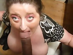 Huge tits fit together sucking bbc and tipple cum