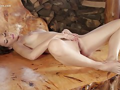 Toka Sparnem is a girl who caresses gently