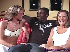 Interracial threesome with a BBC and Jayma Reed & Latch Thomas