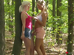 Lovita Fate fingers her friend and they have surprising lesbian sexual congress