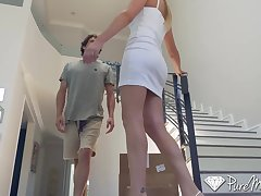 Blonde milf stepmom brett rossi's seduction