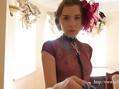 Kate Chromia - Nice Cute Slim Teen Girl Lana At House