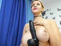 Lewd spanish MILF webcam hot video