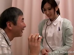 Hot Asian keeping Anna Noma spreads her legs to ride a afflicted dick