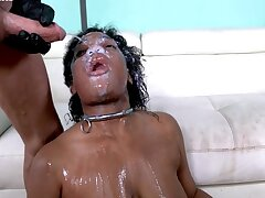 2 White Rods Rough Her 1 Newb Pussy