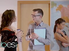 Step Mom Lessons - Gina Gerson Niki Attractive Charlie Dean