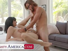 Naughty America: Leda Lotharia gets a cock massage with a having it away great ending!! on PornHD