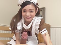 My real live maid woman #12 - Submissive cutie