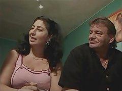 Simone And Biggi granny matures in retro vintage troika