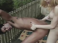 hawt golderen-haired this babemale can plowng hellos lover
